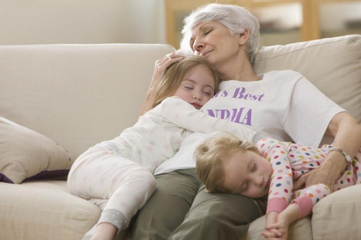 когда мама становится бабушкой