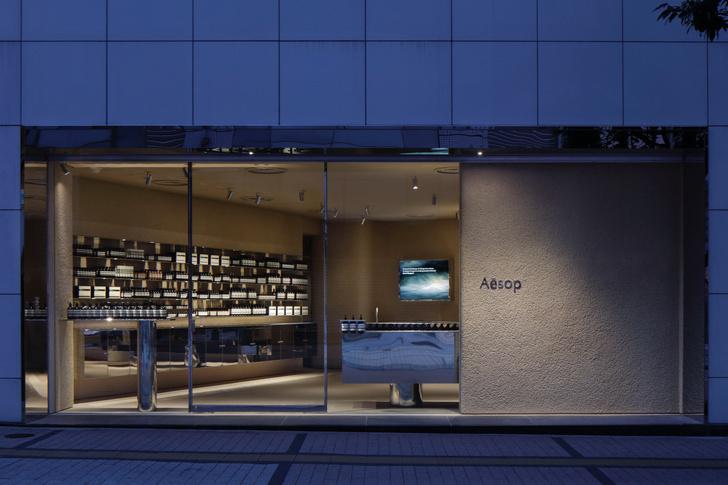 Фото №8 - Минималистский бутик Aesop в Токио