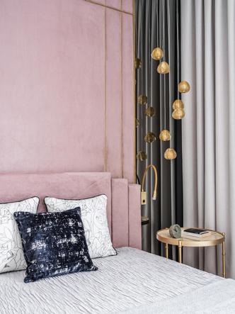 Фото №8 - Квартира в пастельной гамме с золотыми акцентами