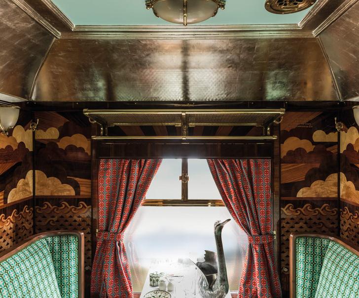 Фото №6 - Кинорежиссер Уэс Андерсон восстановил вагон 1950-х годов
