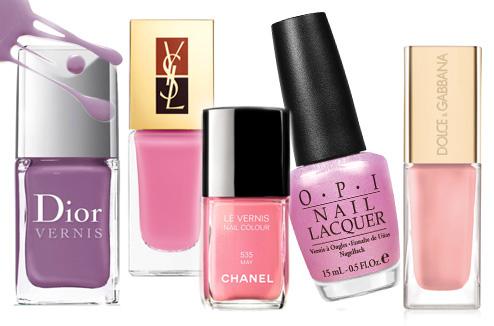 Dior, YSL, Chanel, OPI