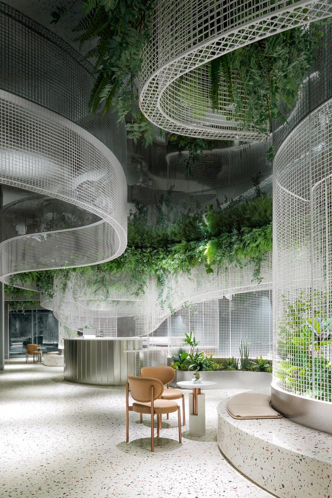 Фото №3 - Кофейня с «парящим» садом в Гуанчжоу