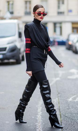 Фото №7 - Модный камбек: с чем носить леггинсы сегодня