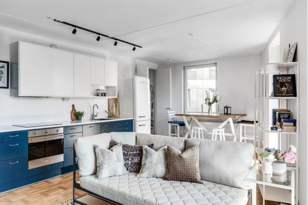 Фото №2 - Маленькая квартира в пригороде Стокгольма