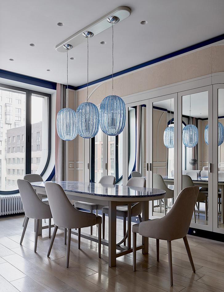 Фото №1 - Квартира 105 м² с необычным дизайном и арочными окнами на ЗилАрт