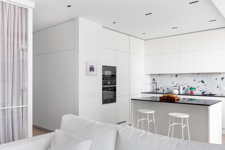 Фото №5 - Идеи для маленьких кухонь: изучаем проекты дизайнеров