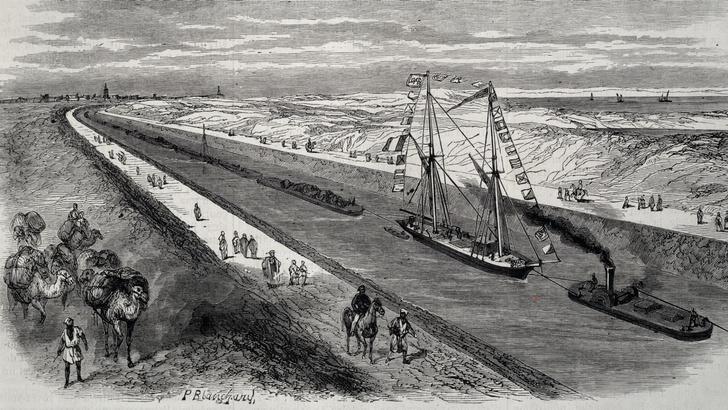 Фото №3 - 12 глубоководных фактов о Суэцком канале— главной морской срезке в истории человечества