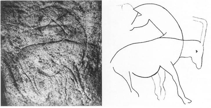 Фото №3 - Археолог случайно открыл, как наскальные рисунки превращаются в первобытные мультики
