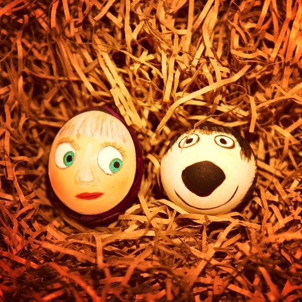 Фото №10 - Как расписать яйца на Пасху: советует Instagram