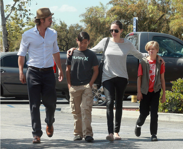 Фото №14 - Джоли снова обвинила Питта в домашнем насилии и готовит детей дать показания против отца
