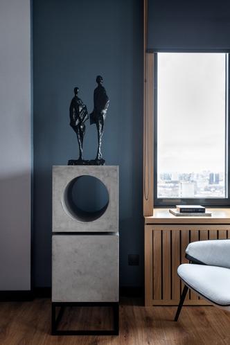 Фото №6 - Современная квартира 82 м² для творческой пары в Москве