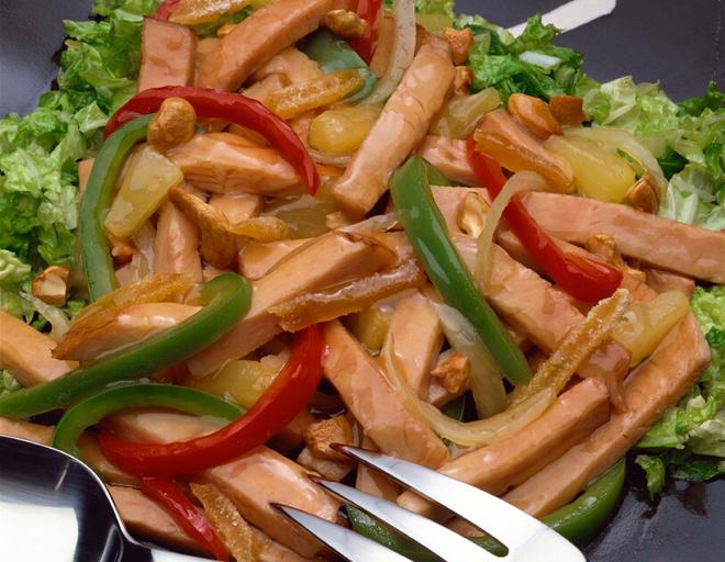Филе курицы с ананасами в духовке рецепт с фото пошагово
