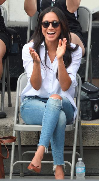 Фото №8 - Запретный плод: как королевские особы носят джинсы