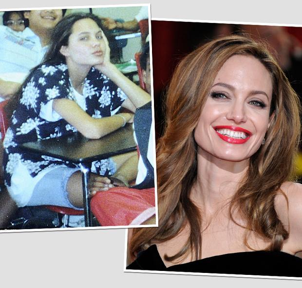 Фото №1 - Анджелина Джоли и другие звезды, которым было непросто в школе