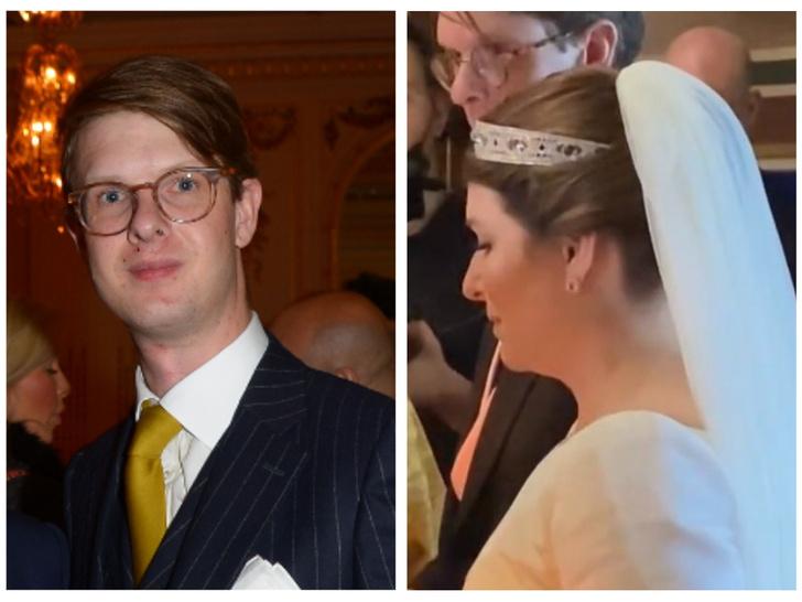 Фото №1 - Прием в отеле и тиара на заказ: как прошла парижская свадьба потомка Романовых князя Ростислава