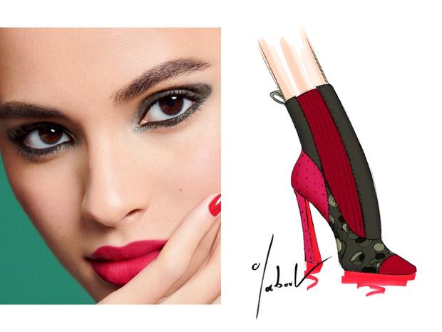 Фото №5 - Mix & match: 6 идей макияжа под 6 пар обуви