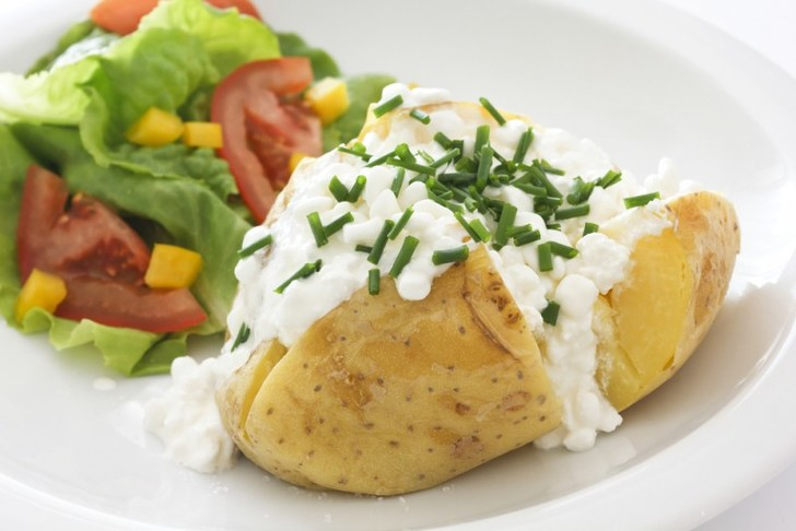 Запеченная картошка в фольге