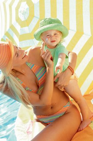 Фото №1 - Подружите детей с солнцем!