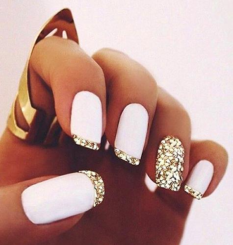 Дизайн ногтей осень-зима 2015. Дизайн ногтей френч. Фото.