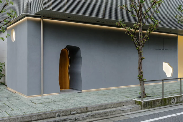 Фото №2 - Ресторан-галерея в Токио