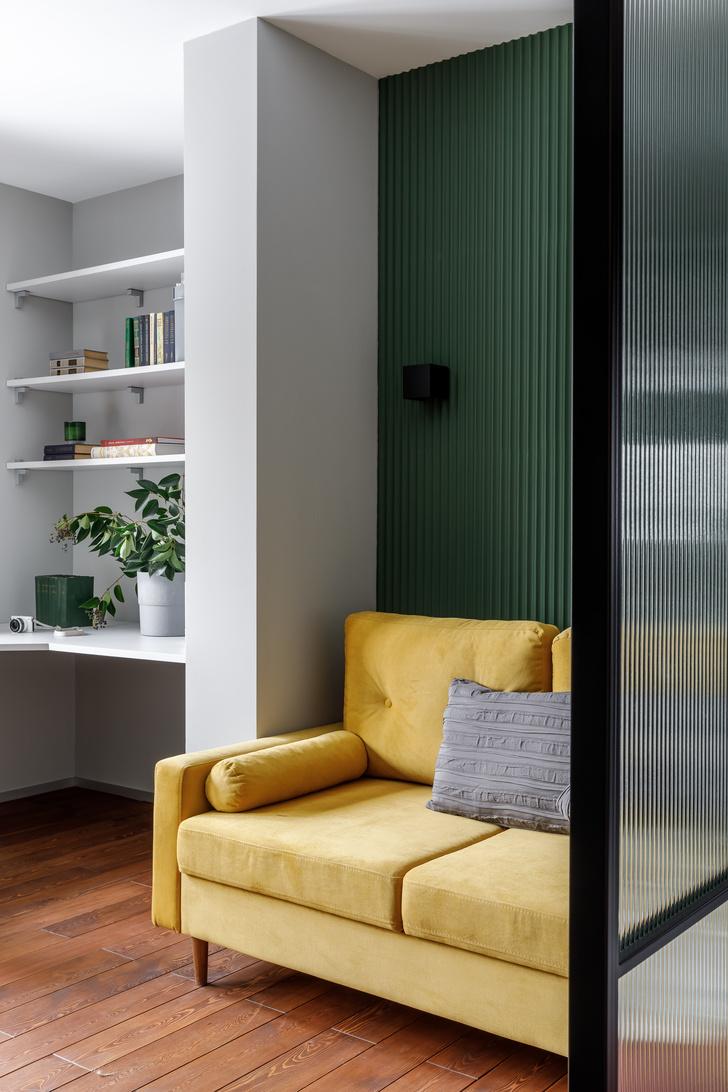 Фото №9 - Квартира 124 м² для искусствоведа и ученого в Химках