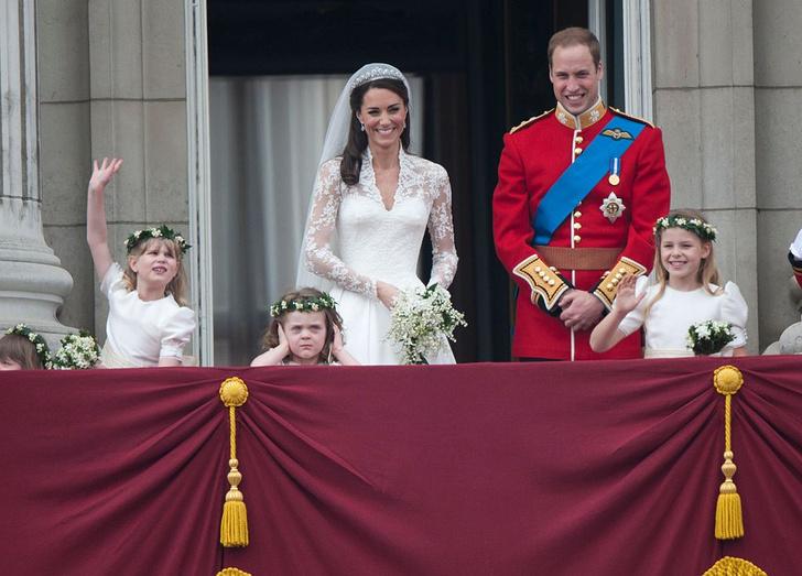 Фото №1 - Свадьба века: 10 лет назад поженились принц Уильям и Кейт Миддлтон