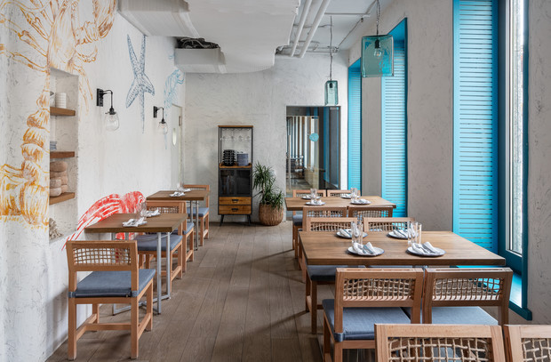 Фото №8 - Ресторан «Морская» в Москве