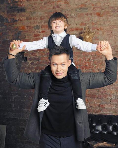 Стас Пьеха с сыном фото