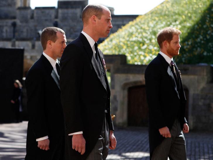 Фото №2 - Читая по губам: о чем Гарри и Уильям говорили после похорон принца Филиппа