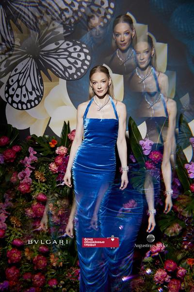 Фото №4 - Светская Москва, самые красивые украшения и 53 миллиона рублей: Водянова собрала звезд на ужин