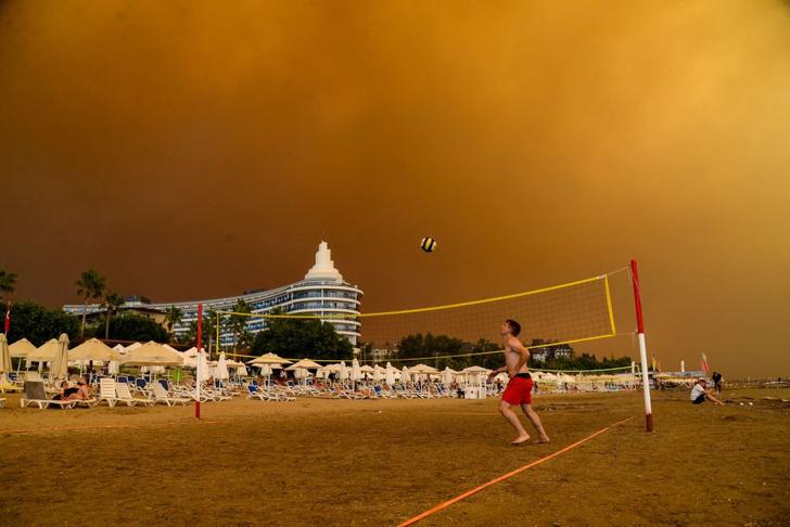 Фото №1 - Пожары в Анталье