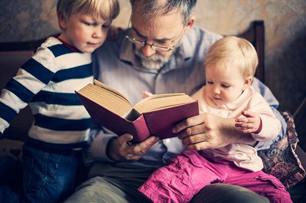 Фото №3 - Зачем современным детям дедушка