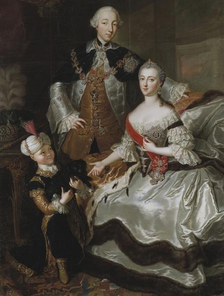 Петр III и Екатерина II