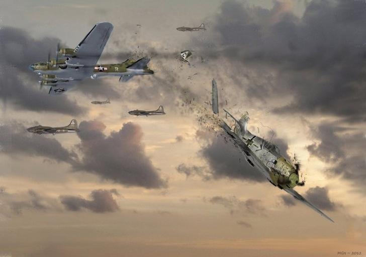 Фото №6 - Спецотряд «Эльба»: первая атака немецких камикадзе