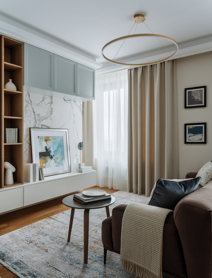 Фото №2 - Светлая квартира 60 м² для молодой пары из Петербурга