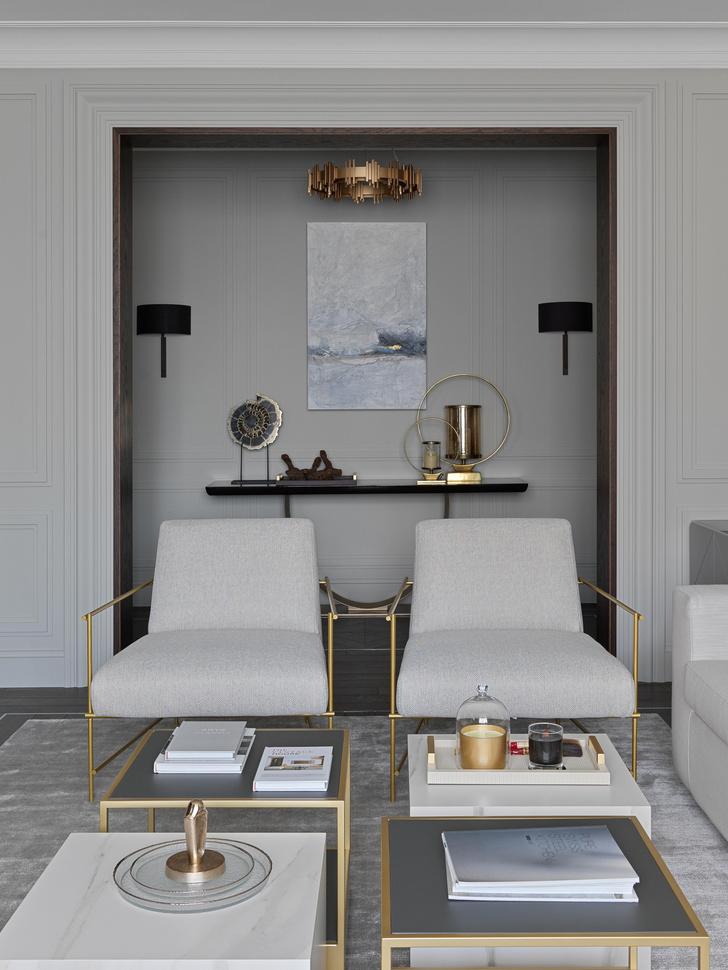 Фото №4 - Новая классика в серых тонах: квартира 100 м² в Москве