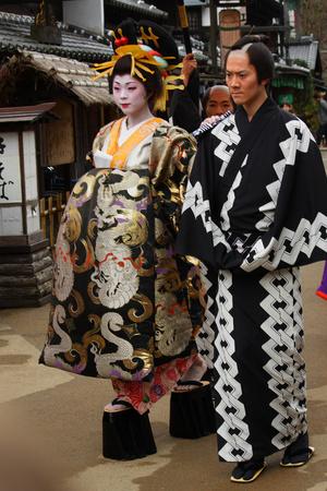 Фото №5 - Удивительные секс-традиции Древней Японии