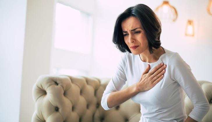 Боль в сердце, симптомы инфаркта