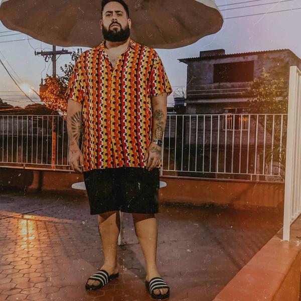 Фото №9 - Что носить летом парням plus size: 10 модных образов