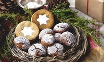 Итальянское рождественское ореховое печенье