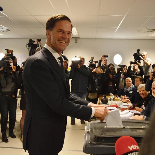Марк Рютте, премьер-министр Нидерландов
