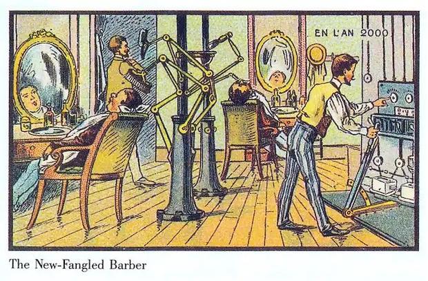Фото №9 - Как люди изображали наше время сто лет назад