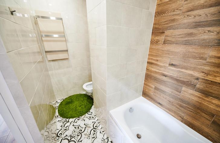 Коврик в ванной