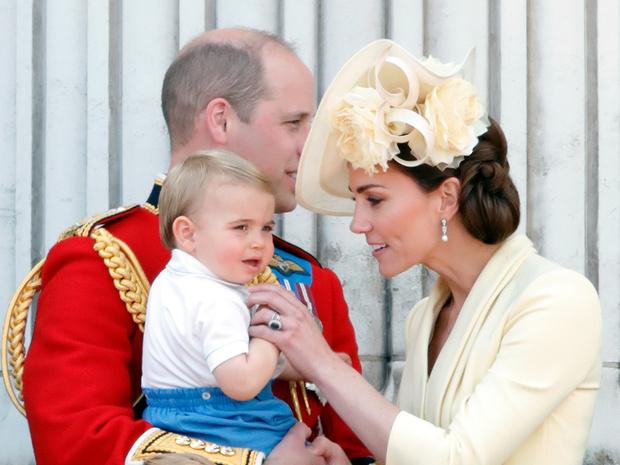 Фото №2 - Мамина копия: самые трогательные совместные фото герцогини Кейт и принца Луи