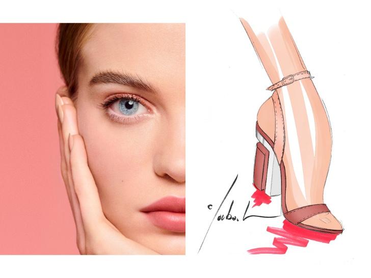 Фото №3 - Mix & match: 6 идей макияжа под 6 пар обуви
