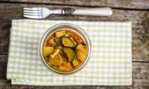 Простые рецепты необычных закусок: кабачки с яблоками