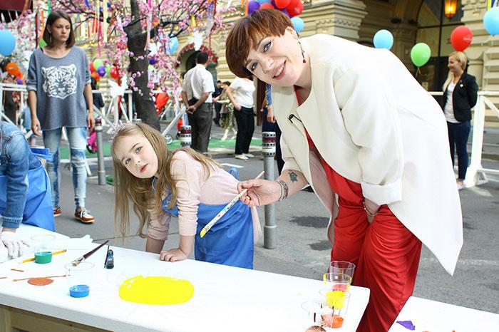 Фото №1 - В ГУМе устроили Большой детский праздник