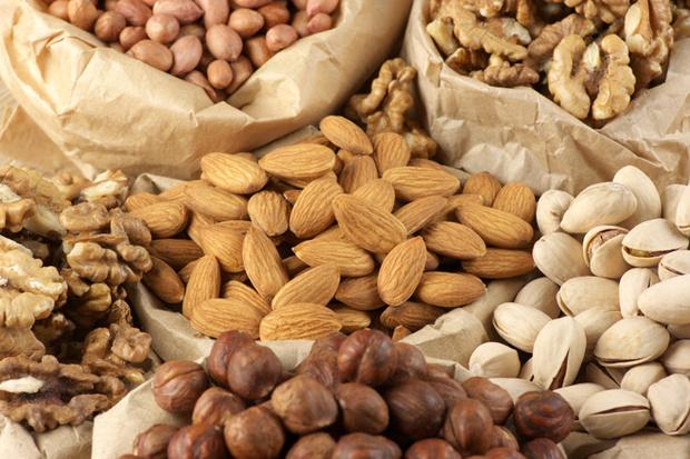 полезные продукты орехи