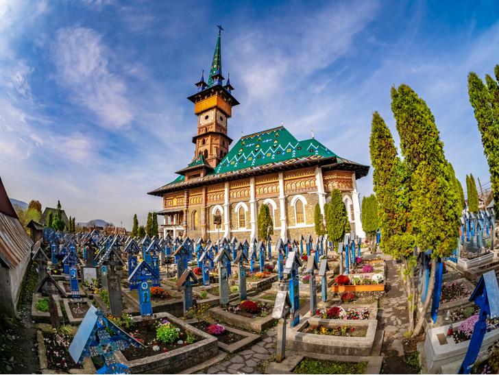 Фото №1 - Румынское кладбище: картинки на память