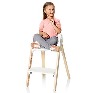 Фото №3 - Каждому - свое:  многофункциональный детский стул Stokke® Steps™  для каждого этапа развития ребёнка